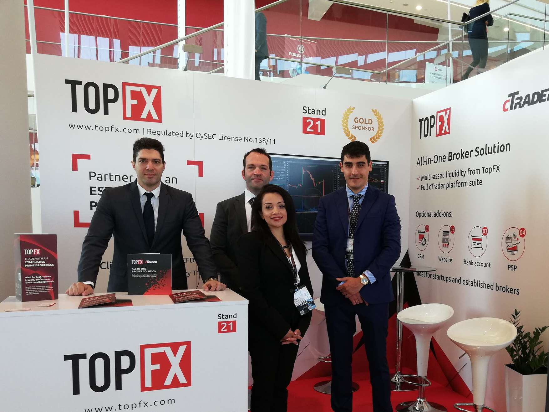 TopFX attends Invest Cuffs 2019-The team